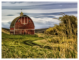 Palouse Barn Giclee Print by Colby Chester