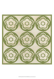 Floral Trellis VII Art by Erica J. Vess
