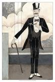 Art Deco Gentleman Prints by Megan Meagher