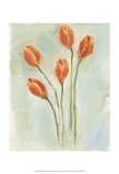 Painted Tulips I Posters by Liz Nichols