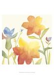 Aquarelle Floral I Print by Megan Meagher