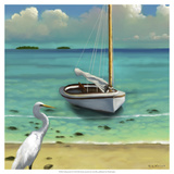 Sailing Serenity IV Giclee Print by Rick Novak