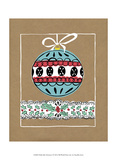 Holly Jolly Christmas I Poster par Chariklia Zarris