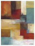 Abstract Blue Giclee Print by W. Green-Aldridge