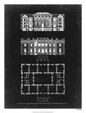 Graphic Building & Plan VI Impression giclée par James Gibbs