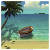 Sailing Serenity III Giclee Print by Rick Novak
