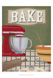 Baker's Kitchen Posters by June Erica Vess
