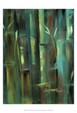 Turquoise Bamboo II Posters by Suzanne Wilkins