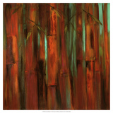 Sunset Bamboo I Giclee Print by Suzanne Wilkins