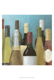Wine Bottles II Prints by Megan Meagher