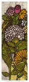 Batik Flower Panel I Giclee Print by Andrea Davis