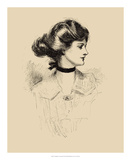 A Daughter of the South Giclee Print by Charles Dana Gibson