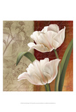 French Tulip Collage I Plakater af Abby White