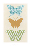 Butterfly Patterns IV Poster by Erica J. Vess