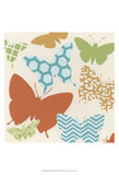 Butterfly Patterns II Posters by Erica J. Vess