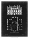 Graphic Building & Plan I Impression giclée par James Gibbs