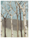 Blue Birches I Giclee Print by Jade Reynolds