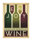 Anderson Design Group - Enjoy California Wine - Giclee Baskı