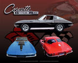 Corvette Sting Ray Tin Sign Tin Sign