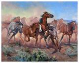 Runnin' Thunder Giclee Print by Jack Sorenson