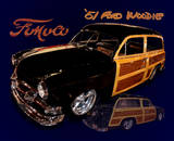 Ford Woodie Tin Sign Tin Sign