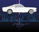 Mustang American Icon Tin Sign Tin Sign