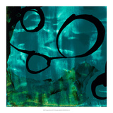 Turquoise Element II Giclee Print by Sisa Jasper