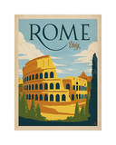Rome, Italy Giclee Print by  Anderson Design Group