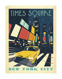 Times Square: New York City Giclee Print by  Anderson Design Group
