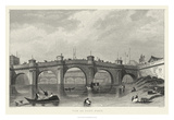 Vue Du Pont Neuf Giclee Print by A. Pugin
