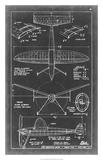 Aeronautic Blueprint III Giclée-Druck von  Vision Studio