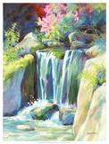 Crystal Creek Stampa giclée di Julie Pollard