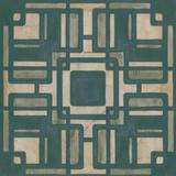 Deco Tile IV Print by Erica J. Vess