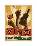 Vino Italiano Giclee Print by  Anderson Design Group