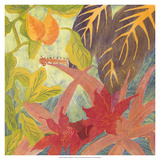 Tropical Monotype IV Giclee Print by Carolyn Roth