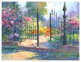 Into the Garden Giclee Print by Julie Pollard