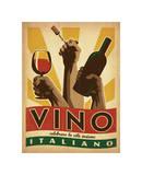 Vino Italiano Lámina giclée por Anderson Design Group