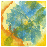 Lotus Monotype II Giclee Print by Carolyn Roth