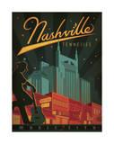 Nashville, Tennessee Wydruk giclee autor Anderson Design Group