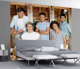 Papier peint One Direction dans une grange Papier peint