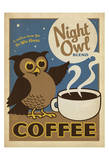 Night Owl Blend Coffee Giclee Print by  Anderson Design Group