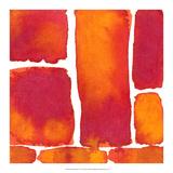 Saturated Blocks II Giclée-tryk af Renee Stramel