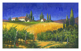 Tuscan Evening Giclee Print by Michael Swanson
