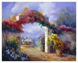 Garden Peace Giclee Print by Carolyne Hawley