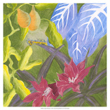 Tropical Monotype V Giclee Print by Carolyn Roth