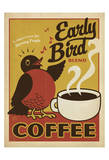 Early Bird Blend Coffee Giclee Print by  Anderson Design Group