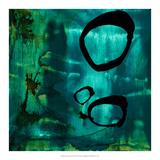 Turquoise Element IV Giclee Print by Sisa Jasper