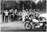 Head Hunters Motorcycle Gang Archival Photo Poster Print