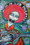 Dia de los Muertos Day of the Dead Poster Print