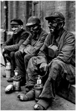 Coal Miners Archival Photo Poster Photo